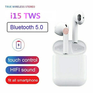i15 TWS Wireless Bluetooth Headset - TUZZUT Qatar Online Store