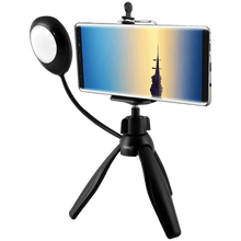 Load image into Gallery viewer, Earldom (ET-ZP15) 360 Degree Rotate Mini Smartphone Tripod with Selfie Lamp - TUZZUT Qatar Online Store