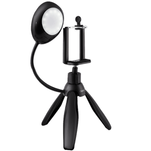 Earldom (ET-ZP15) 360 Degree Rotate Mini Smartphone Tripod with Selfie Lamp