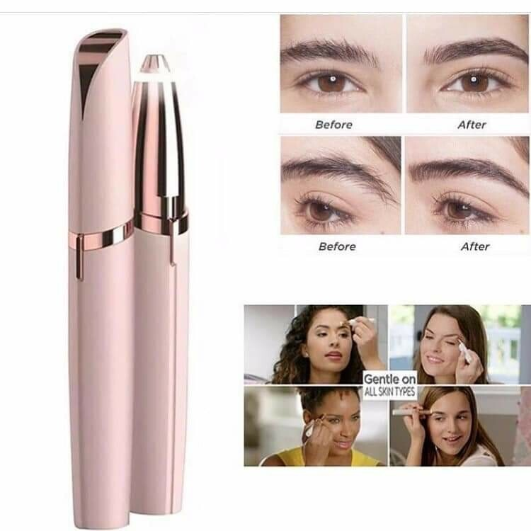 Flawless Brows Eyebrow Hair Remover - White - TUZZUT Qatar Online Store