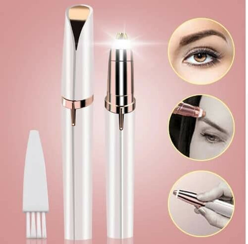 Flawless Brows Eyebrow Hair Remover - White
