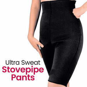 Ultra Sweat Three-dimensional Subsection Pressure Braiding Stovepipe Pants