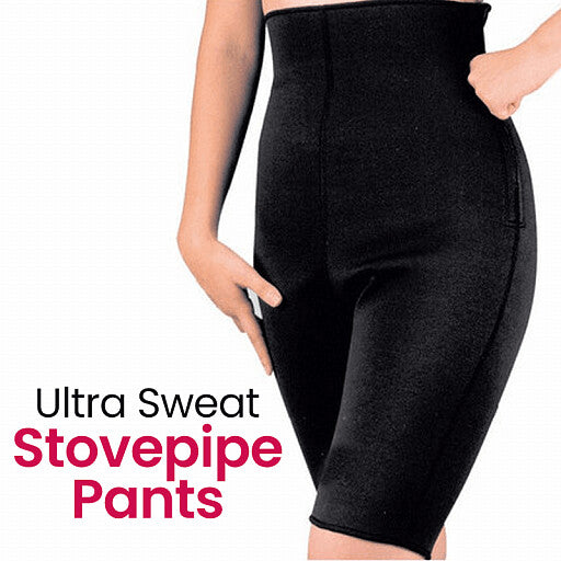 Ultra Sweat Three-dimensional Subsection Pressure Braiding Stovepipe Pants - TUZZUT Qatar Online Store