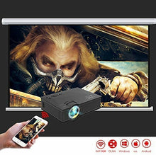 Load image into Gallery viewer, UC46 Entertainment HD LED Projector, 1200 Lumens, Wi-Fi Ready With HDMI, VGA, AV, USB, SD Card Slot - TUZZUT Qatar Online Store