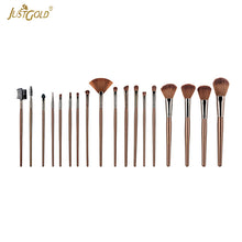 Load image into Gallery viewer, Just Gold 18 Pieces Brush Set - Beige, JG-9257 - TUZZUT Qatar Online Store