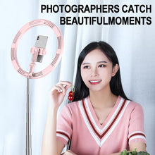 Load image into Gallery viewer, New Portable 12 inch Selfie Flash LED Dimmable Ring Light with 54-168cm Stand and Mobile Phone Holder - TUZZUT Qatar Online Store