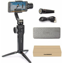 Load image into Gallery viewer, Zhiyun Smooth 4 [Black] 3-Axis handheld gimbal for Smartphone