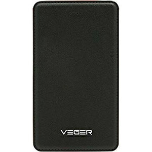Veger 15000mAh Safe/Efficient/Fashion Power Bank for Smart Phones - V58 ( Black) - TUZZUT Qatar Online Store