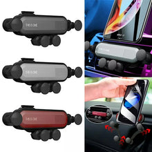 Load image into Gallery viewer, GravitySmart© Mini Car Phone Holder Air Vent Gravity Linkage Mount Bracket for Mobile Phones - TUZZUT Qatar Online Store