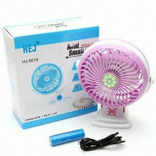 Load image into Gallery viewer, HEJ USB Portable Clamp Base Mini Fan