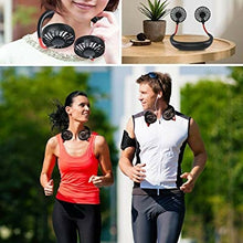 Load image into Gallery viewer, Portable Wearable Sports Fan - JA013