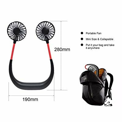 Portable Wearable Sports Fan - JA013 - TUZZUT Qatar Online Store