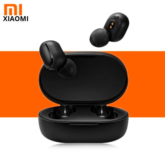 Xiaomi Redmi Airdots TWS Bluetooth Earphone Stereo Bass BT 5.0 Earphones With Mic Handsfree Earbuds - TUZZUT Qatar Online Store