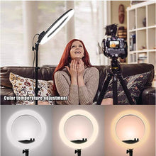 Load image into Gallery viewer, YQ-320 Ring Light 30cm with Stand,12 30W Dimmable LED Ring Light with Remote Control and Touch Key - TUZZUT Qatar Online Store
