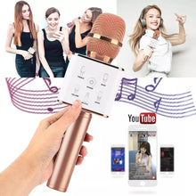 Load image into Gallery viewer, 2 In 1 Bundle Best Quality Karoke Microphone with Carry box and  Bluetooth Wireless Speaker (Assorted Colours) - TUZZUT Qatar Online Store