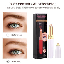 Load image into Gallery viewer, Painless Mini Rechargeable Eyebrow Trimmer Brows Pen Hair Remover - TUZZUT Qatar Online Store