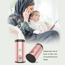 Load image into Gallery viewer, Mini Car Incense Bakhoor Burner Rechargeable Bukhoon Device - TUZZUT Qatar Online Store