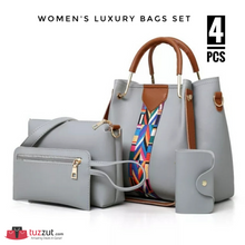 Load image into Gallery viewer, 4 Pcs Women's Luxury Bags Set - 5565 - TUZZUT Qatar Online Store