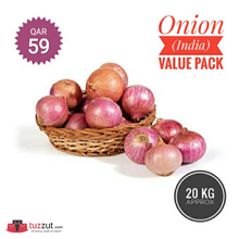 Load image into Gallery viewer, Onion (India) Value Pack 20Kg - TUZZUT Qatar Online Store
