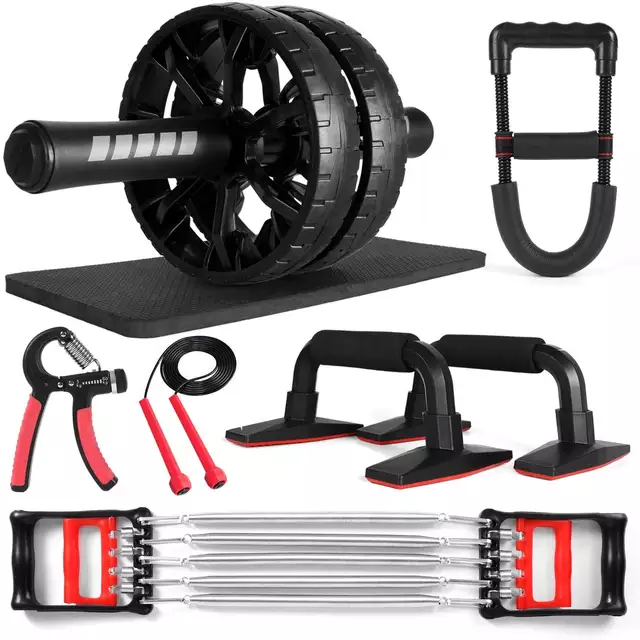 Perfect 6 in 1 Workout Fitness Set - TUZZUT Qatar Online Store
