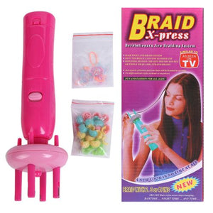 Braid X-Press Automatic Hair Twist Device