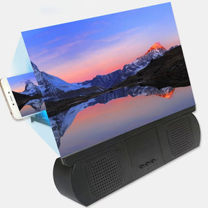 F9 Universal Mobile Screen Magnifier with Built in Bluetooth Speaker - TUZZUT Qatar Online Store