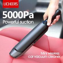 Load image into Gallery viewer, LICHEERS Portable Mini Home Car Handheld Cordless Vacuum Cleaner LC-256 - TUZZUT Qatar Online Store