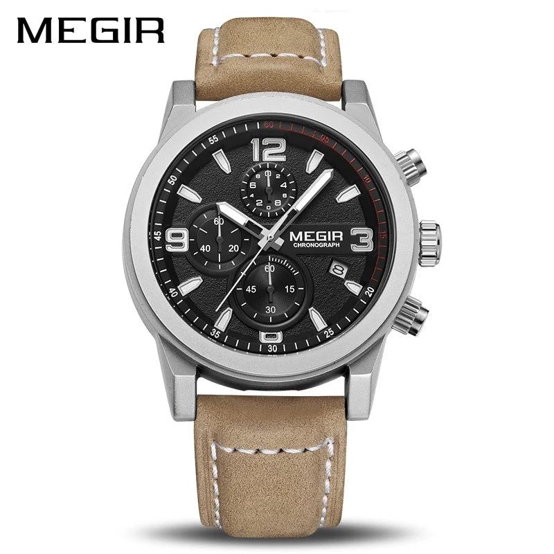 MEGIR Fashion Sports Watch, Army Military Watch ML2026