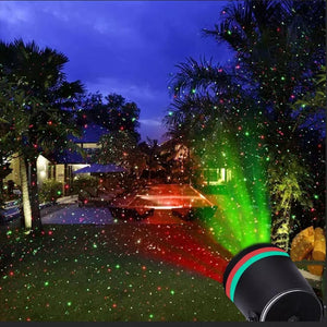Star Shower Motion Laser Lights Projector Indoor and Outdoor - TUZZUT Qatar Online Store