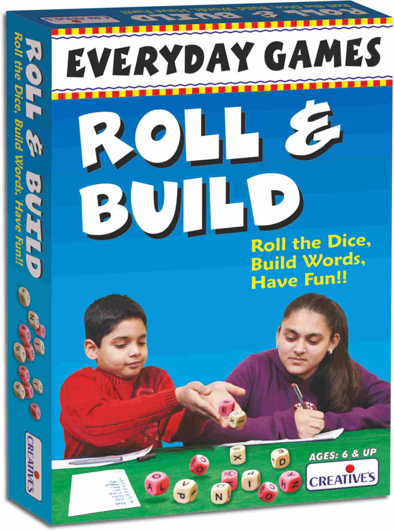 Everyday Games-Roll and Build - TUZZUT Qatar Online Store