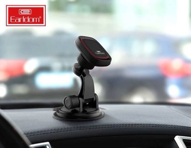 Earldom Universal Suction cup Powerful Magnetic holder with 360 degree rotation - EH47 - TUZZUT Qatar Online Store