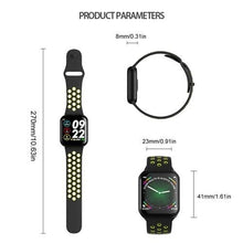 Load image into Gallery viewer, F8 Sports Smart Watch Full Touchscreen Bluetooth Music Control Heart Rate Monitor Sleep Tracker Support IOS Android