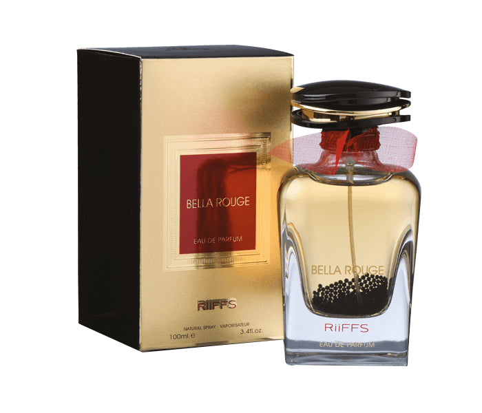 Riiffs Bella Rouge Eau De Parfum Natural Spray for Unisex - 100 ml - TUZZUT Qatar Online Store