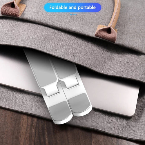 Portable Foldable Laptop / MacBook/Notebook Stand Holder Bracket (11-17 inch) - TUZZUT Qatar Online Store