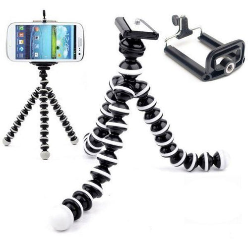 Gorilla Octopus Fully Flexible Foldable Camera & Mobile Tripod Stand Z-03