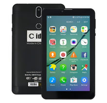 Load image into Gallery viewer, C idea CM499 7 Inch Dual Sim 1GB RAM 16GB 4G LTE Tablet + Power Bank + Earpod + Finger Holder + Touch Pen + LED Watch