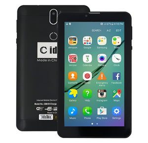 C idea CM499 7 Inch Dual Sim 1GB RAM 16GB 4G LTE Tablet + Power Bank + Earpod + Finger Holder + Touch Pen + LED Watch - TUZZUT Qatar Online Store