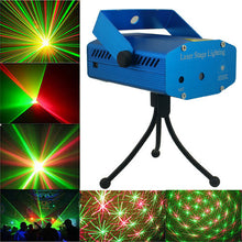 Load image into Gallery viewer, 6 in 1 Portable Mini Laser Stage Light Projector for Disco Party - TUZZUT Qatar Online Store