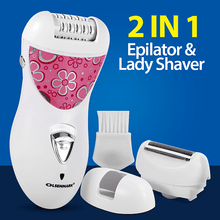 Load image into Gallery viewer, Olsenmark Rechargeable 2 In 1 Epilator & Lady Shaver, OMLS4045