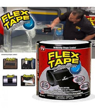 "Load image into Gallery viewer, Flex Tape Strong Rubberized Waterproof Tape, 4"" x 5' - Black - TUZZUT Qatar Online Store"