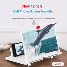 Load image into Gallery viewer, 12inch Foldable 3D Mobile Phone Screen Magnifier - TUZZUT Qatar Online Store