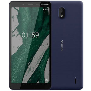 Nokia 1 Plus, 1GB Ram, 8GB Memory, 4G LTE Dual Sim With 1 Year Warranty, Blue (with Free Gifts) - TUZZUT Qatar Online Store