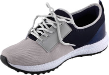 Load image into Gallery viewer, Allen Cooper Sports Shoes - Light Grey & Navy