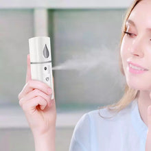 Load image into Gallery viewer, Portable Nano Mist Sprayer Facial Body Nebulizer Steamer - TUZZUT Qatar Online Store