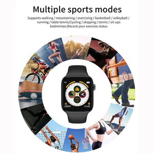 T500/T55 Series 5 Smart Watch Bluetooth Call Music Player 44MM For Apple IOS Android Phone Heart Rate Moniter