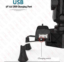 Load image into Gallery viewer, X-Grip Universal Bike Mobile Charger & Phone Holder for All Bikes Scooters (5V-2A) - TUZZUT Qatar Online Store