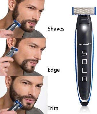 Micro Touch Solo Hyper-Advanced Smart Razor Shaver and Trimmer - TUZZUT Qatar Online Store