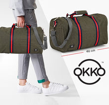 Load image into Gallery viewer, OKKO Travel Bag GH-204, Size 46 - Green - TUZZUT Qatar Online Store