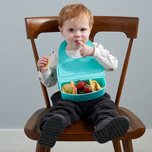 Load image into Gallery viewer, Snack & Go Travel Bib - Meal box for Children