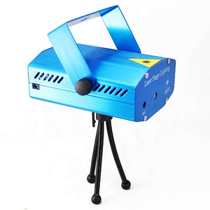 6 in 1 Portable Mini Laser Stage Light Projector for Disco Party - TUZZUT Qatar Online Store